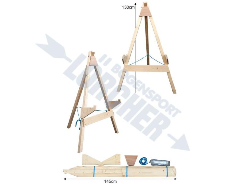 Holzstaender 3-Bein klein