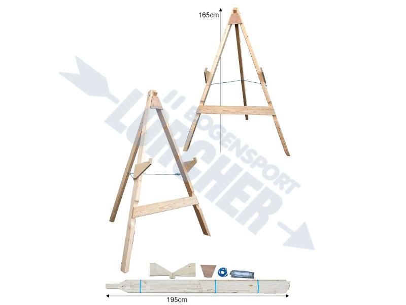 Holzstaender 3-Bein gross