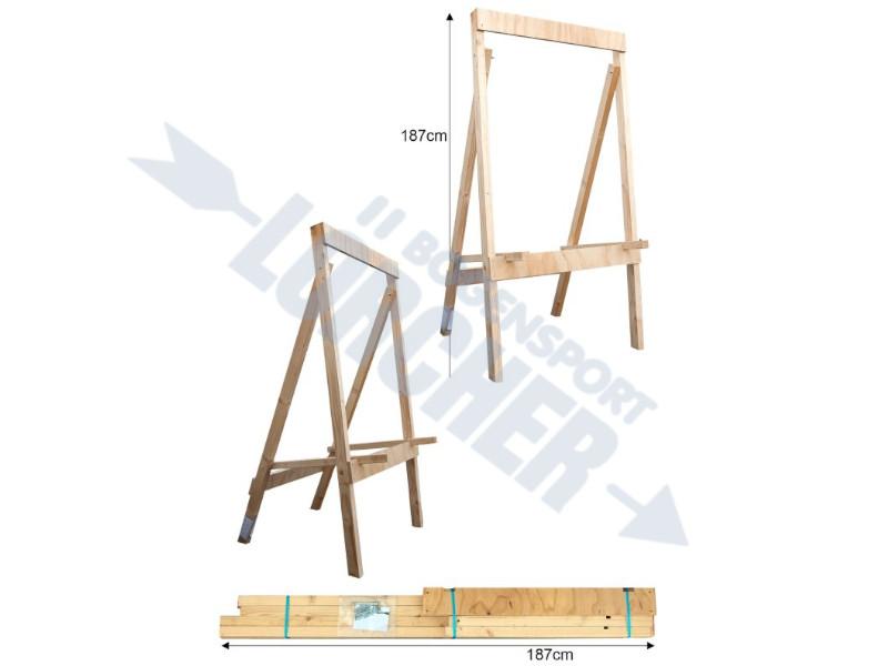 Holzstaender 4-Bein