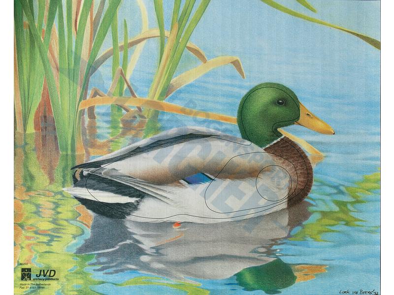 Tierscheibenauflage Ente