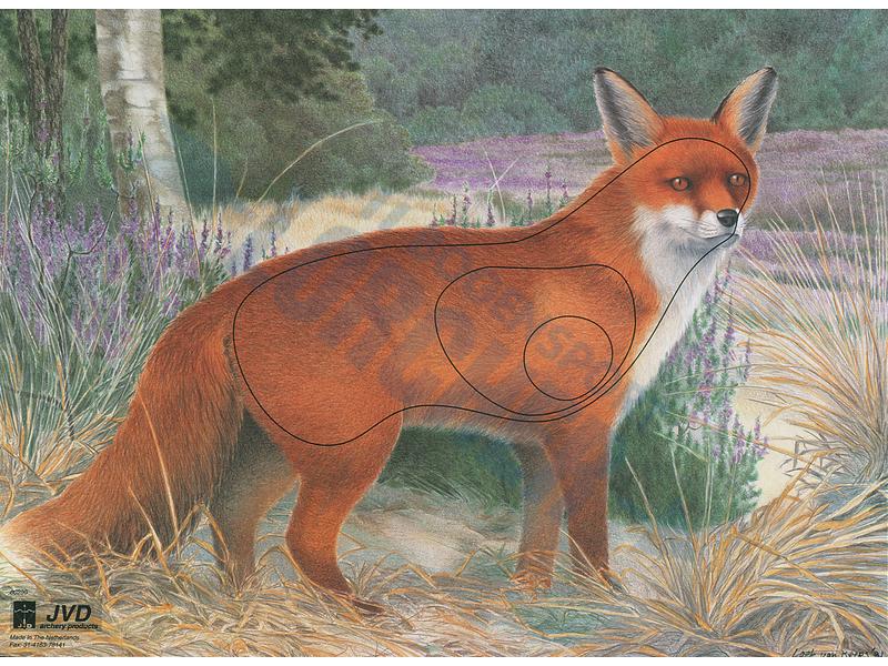 Tierscheibenauflage Fuchs