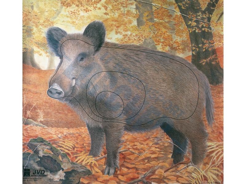 Tierscheibenauflage Wildschwein