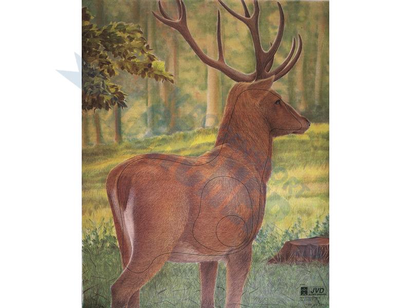 Tierscheibenauflage Hirsch