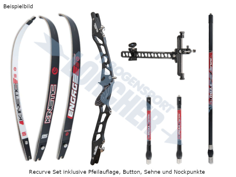 Kinetic Recurve Set 2020 Arios II 8